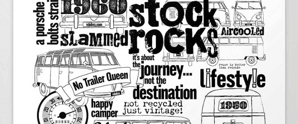 vintage distressed illustration and typographic montage