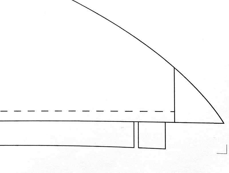 limited progress on the rear overhead storage unit, but plans are in progress…