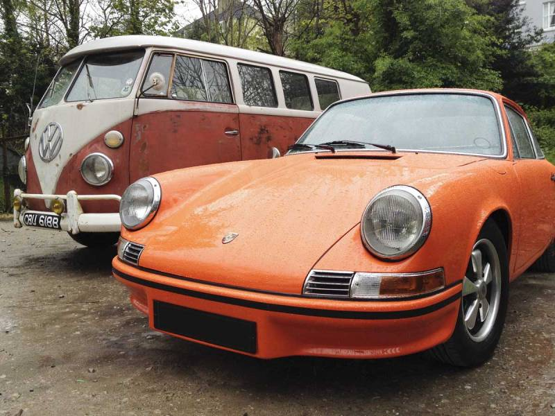 cool Porsche 911… all part of the aircooled family
