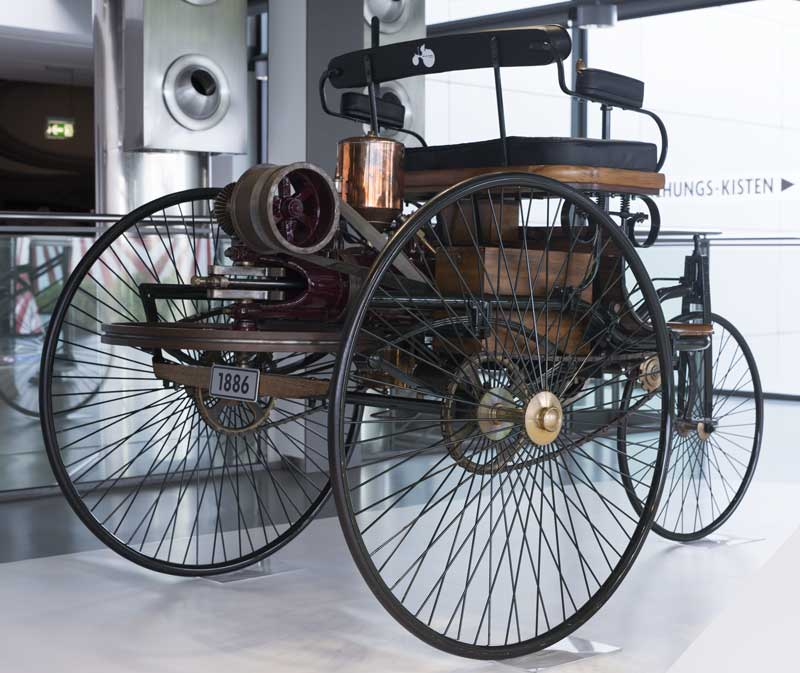 things have come a long way since the days of the 1886 Benz Patent-Motorwagen