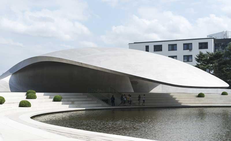 Porsche Pavilion at the Autostadt by Henn Architekten