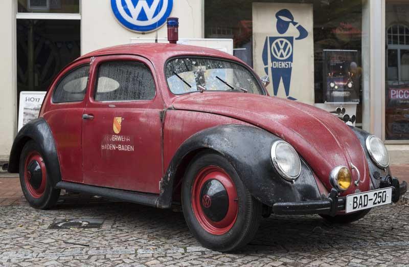 original Baden Baden Feuerwehr (Fire Service) Beetle