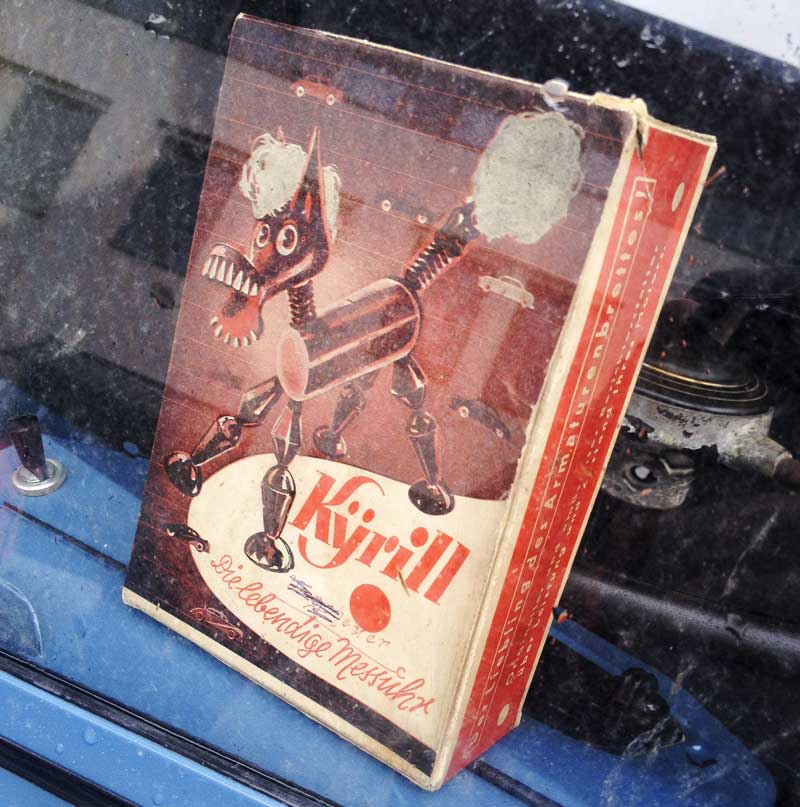on display in a bus window… just loved the quirky cover illustration