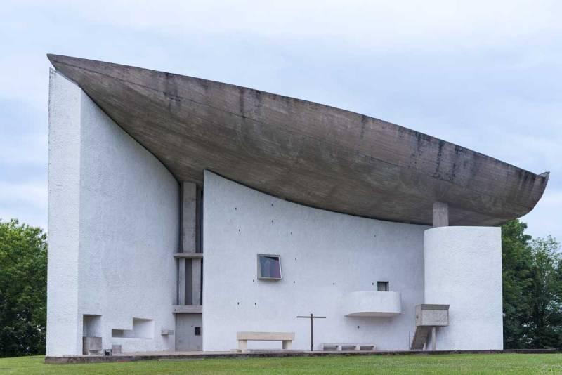 Le Corbusier's masterpiece of Architecture, La Ronchamp Chapel