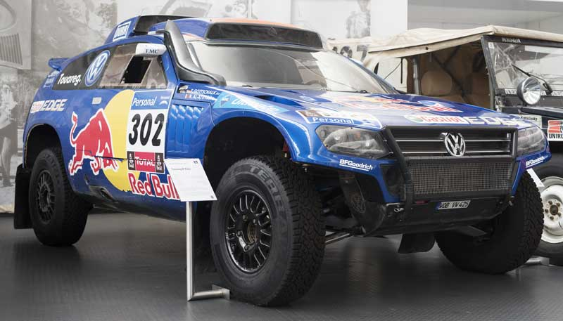 hard core Touareg offroad Dakar Rally race car