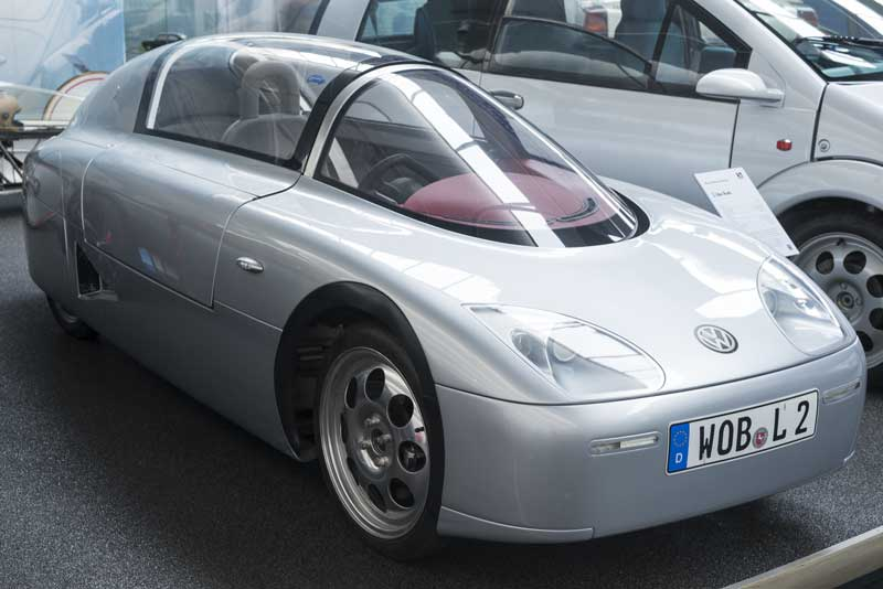 Volkswagen XL1 Super Efficient Vehicle (SEV) concept car