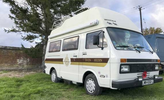 LT28 Westfalia Sven Hedin camper – a home away from home