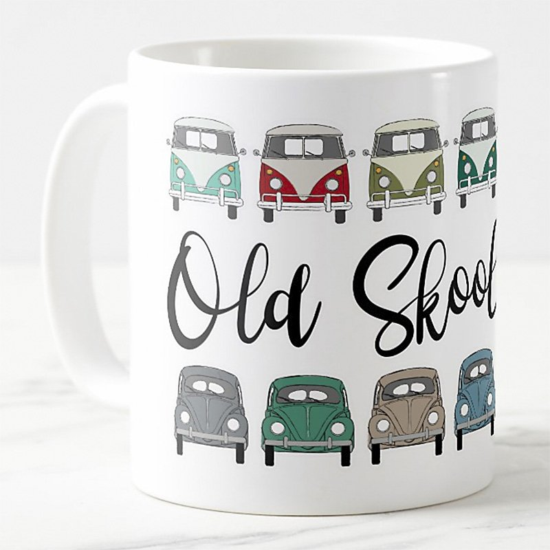 old skool cool – the perfect mug for your favourite beverage