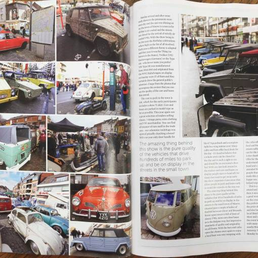 a Ninove 2018 article in the Volkswagen and Camper magazine