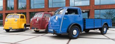not one, not two but three Tempo Matador trucks