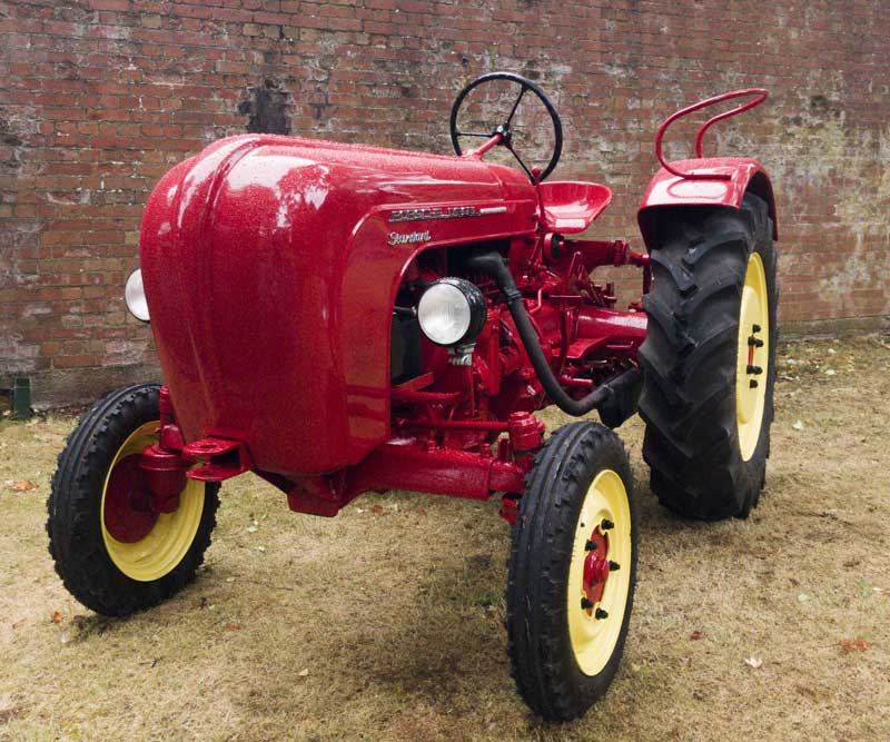 not just sports cars… vintage Porsche tractor!