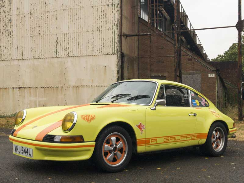 R Gruppe is an invitation-only classic Porsche car club with membership focused on the early 911 (1963-1973)