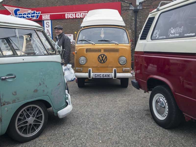 Always good to see a good mix of VW's at a show