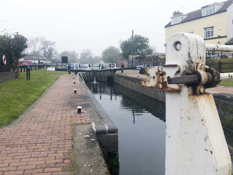 Trent Lock, a canal network from a different age of transportation