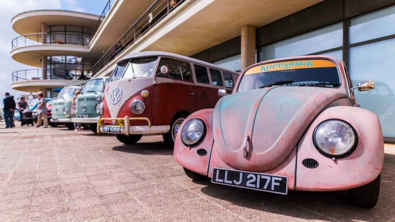 awesome Automobiles and Architecture on display