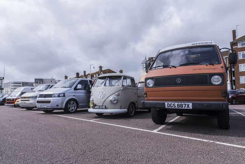 the ups and downs of VW bus stances