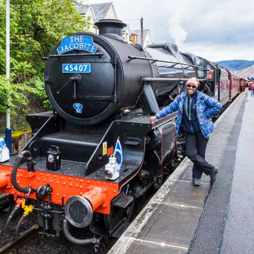 Fort William - all aboard the Jacobite for the greatest railway journey in the world