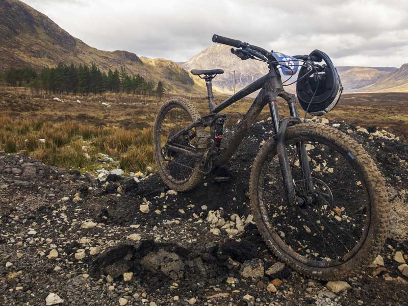 Glencoe makes an awesome location for a spot of mountain biking