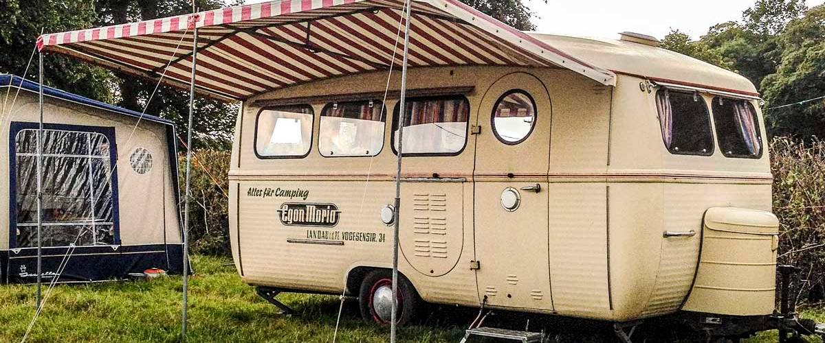 super cool Westfalia caravan