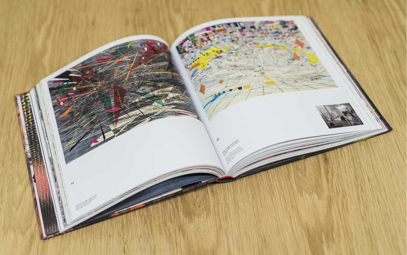 Julie Mehretu retrospective exhibition catalogue