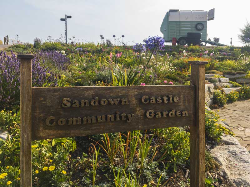 Sandown Castle community garden
