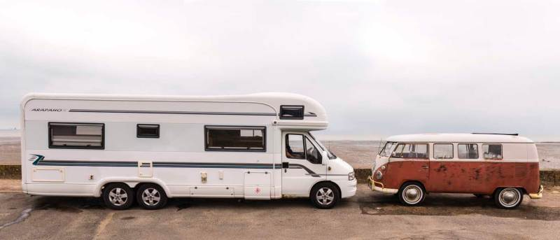 All campers great and small – spot the odd one out