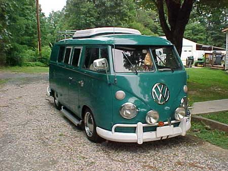 1965 SO42 Westfalia pop top camper