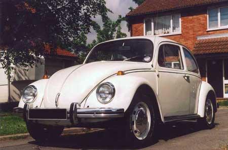 My first Volkswagen, a 1968 RHD Deluxe Beetle