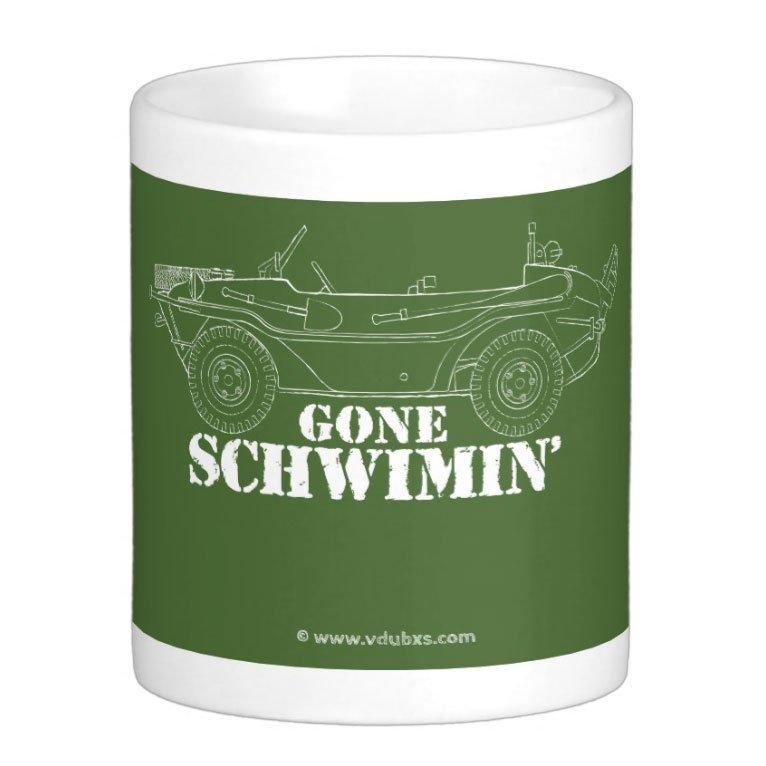 gone schwimin' Mug