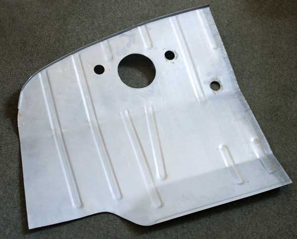 New cab floor half section from Alan Schofields