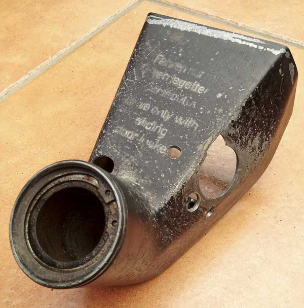 VW Early Bay ignition housing