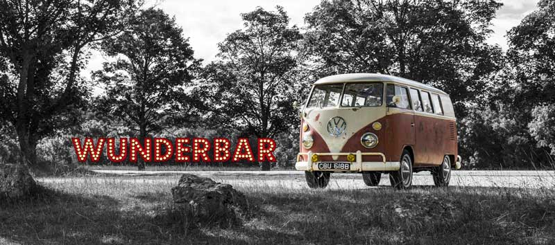 Wunderbar – get in touch for advertising or photoshoot opportunities