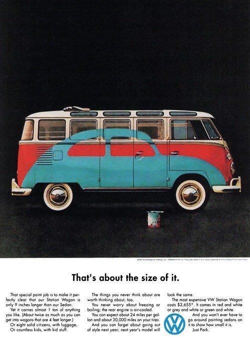 Vintage Vw Ad 96