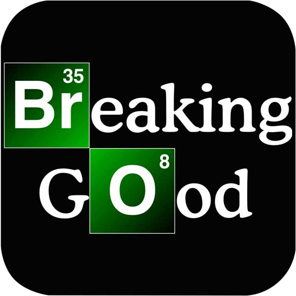 changed from Breaking Bad to Breaking Good!