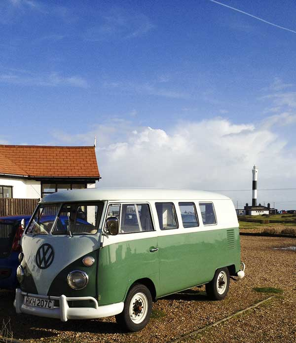 fun in the sun at Dungeness, Kent