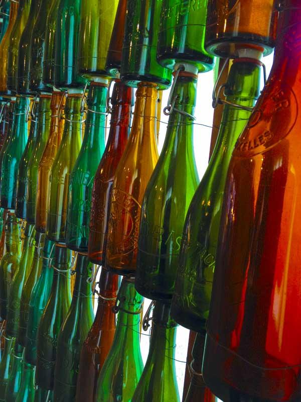 the Brewery Slaghmuylder vintage bottle collection