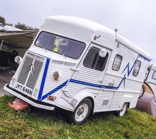 super cool Citroën H van camper