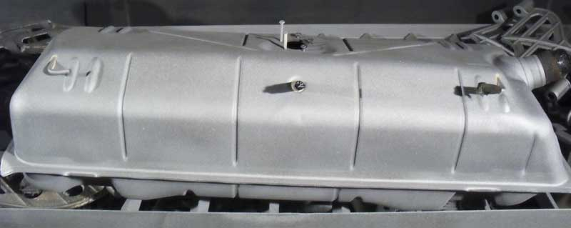 back from the blasters … a VW Early Bay August 71> petrol tank