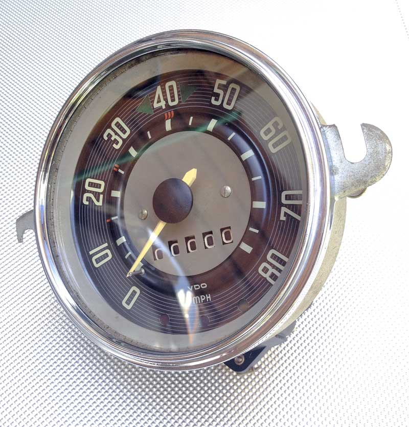 refurbished 'patina' style speedo