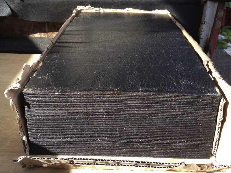 self adhesive sound damping sheets