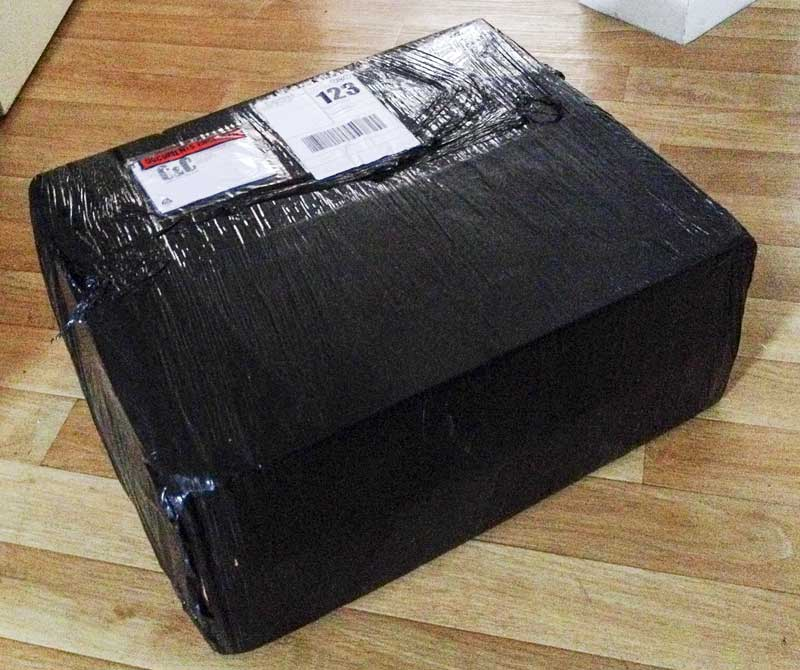 new delivery from Custom and Commercial, I wonder what the box could possibly contain…
