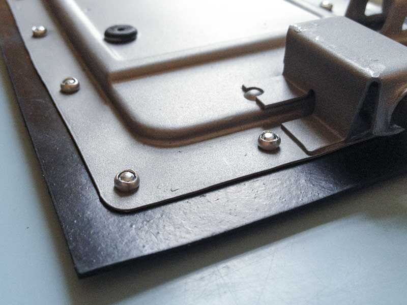 good as new – new internal vent flap rubber secured in place