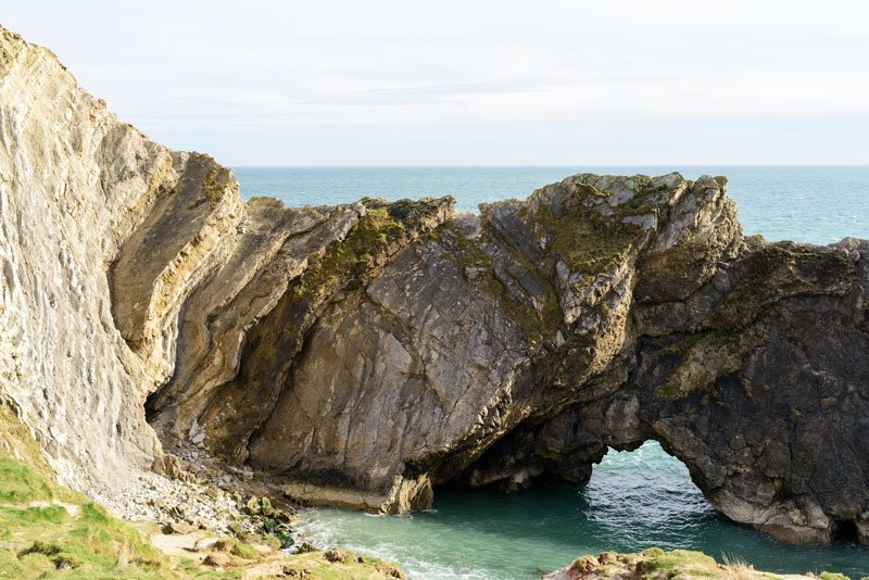 the rugged beauty of Dorset's Jurassic coast line