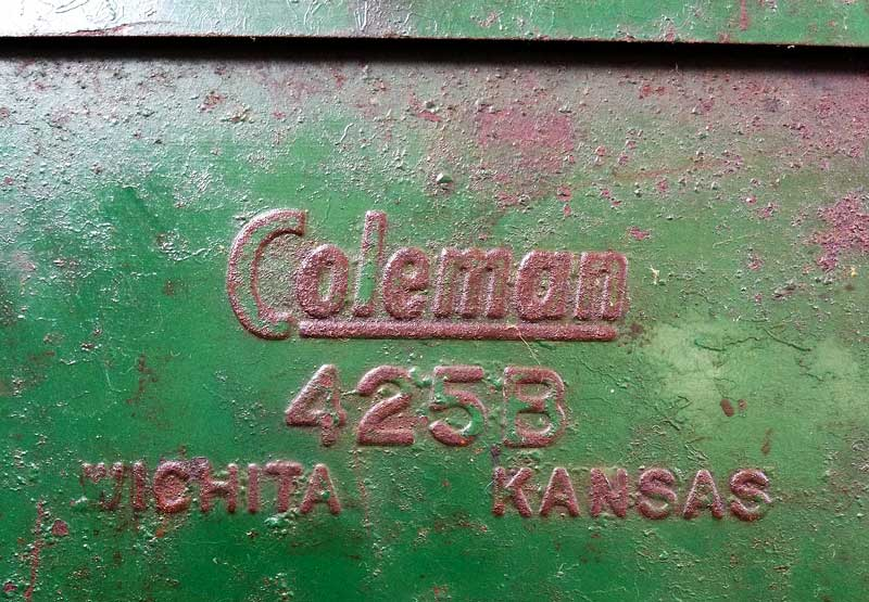 working vintage Coleman 425B stove