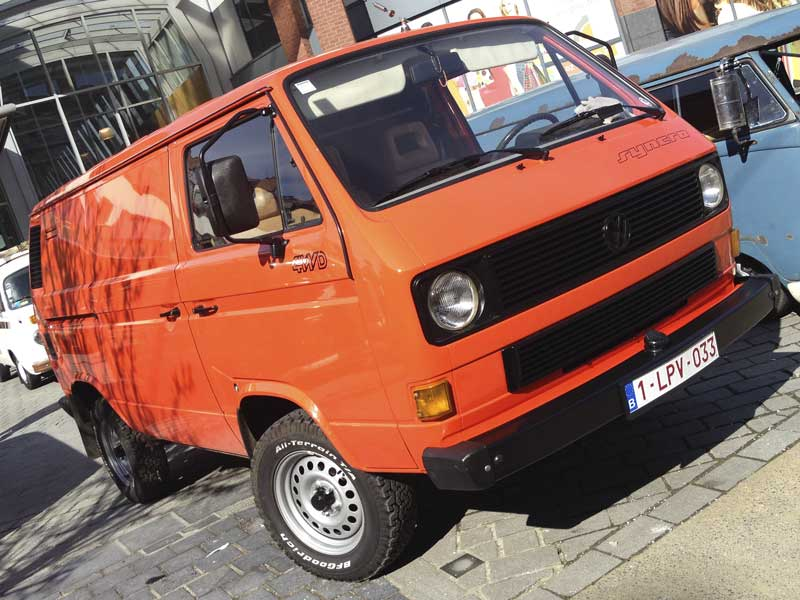 "awesome 16"" syncro T3 panel van"