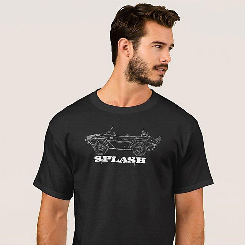 splash… cool new Schwimmwagen t-shirt design