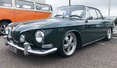 stunning lines on this beautiful looking type 34 Karmann Ghia Razorback
