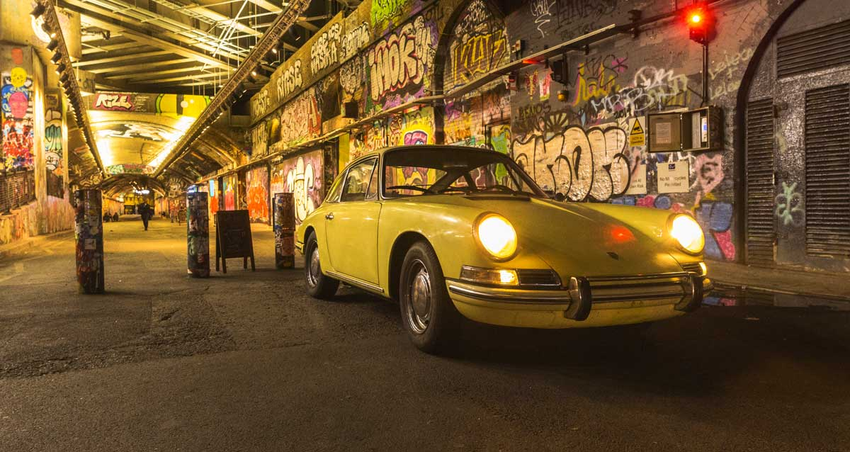 Classic aircooled night on the town