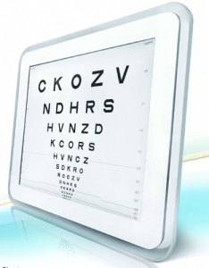 Computerized visual acuity systems also ophthalmic equipment eye charts veatch rh veatchinstruments