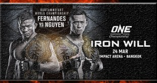Uitslagen ONE Championship 70 Iron Will